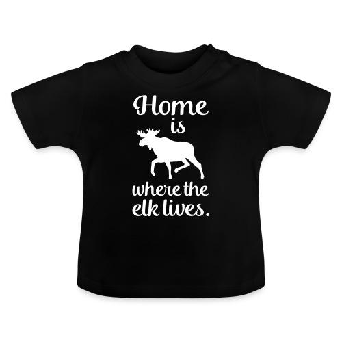 Elch Skandinavien Fan Spruch - Baby T-Shirt
