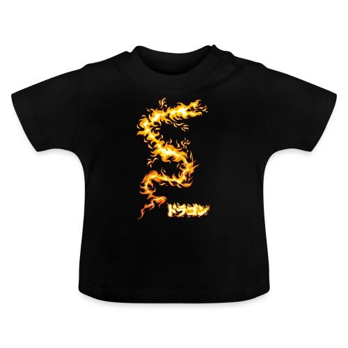 Flaming dragon - Baby T-Shirt