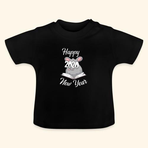 Happy New Year 2020 China Sternzeichen der Ratte - Baby T-Shirt