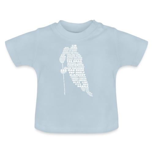 Language of Hockey (White) - Baby T-Shirt