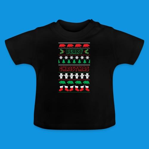 Beary Christmas.png - Baby T-Shirt