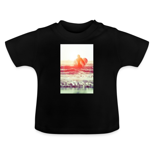 sunset surf jpg - Baby T-Shirt
