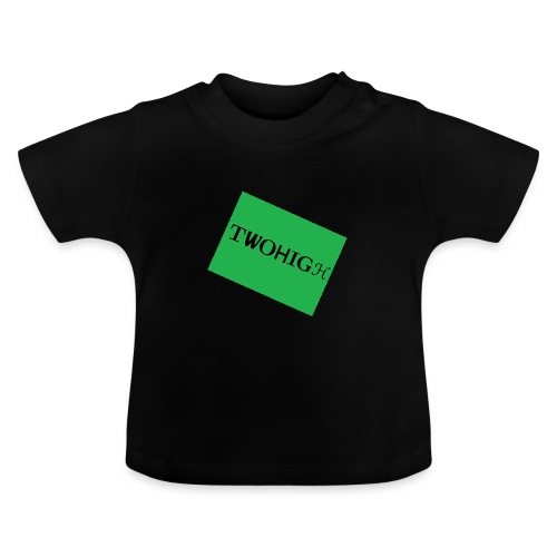 solid green background - Baby-T-shirt