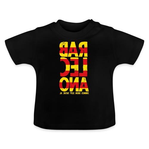 Barcelona (flagcolor oldstyle) - Baby T-Shirt