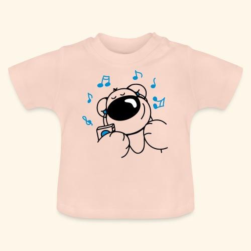 chris bear mit Kopfhörern - Baby T-Shirt
