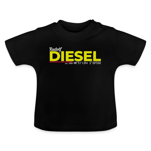 Rudolf Diesel geboren in Paris I Dieselholics - Baby T-Shirt