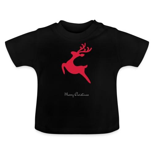 Caribou 8, Merry Christma - T-shirt Bébé