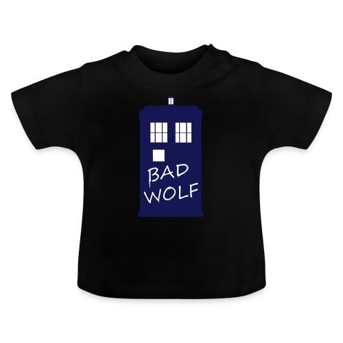 Bad Wolf Tardis - T-shirt Bébé