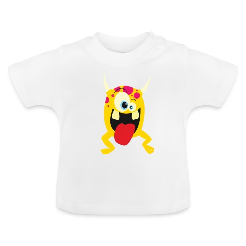 Monster Yellow - Baby T-shirt