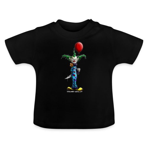 klaun tee - Baby-T-shirt