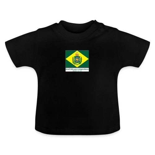 Brazil 200 years independence - Baby-T-skjorte