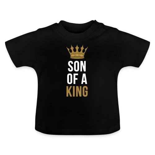 Son of a King Vater Sohn partnerlook - Baby T-Shirt