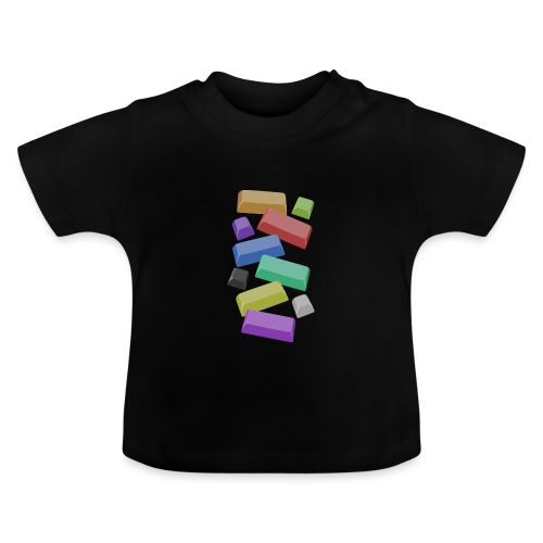 SA Mechanical Keyboard Keycaps Motif - Baby T-Shirt