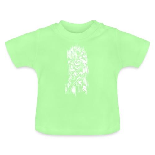 Samurai / White - Abstract Tatoo - Baby T-Shirt