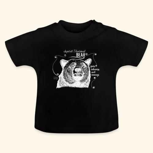 Spirit Animal Bär weiß - Baby T-Shirt