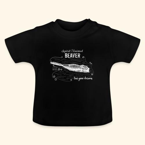Spirit Animal Piber weiß - Baby T-Shirt