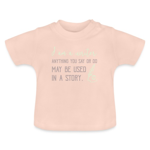 0267 History | Author | Writer | story - Baby T-Shirt