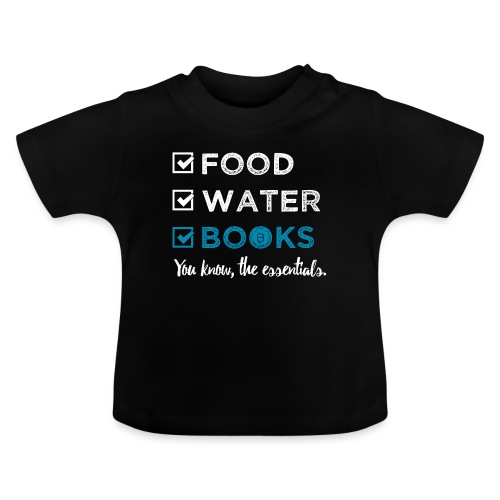 0262 Books | Reading | The important and essential - Baby T-Shirt
