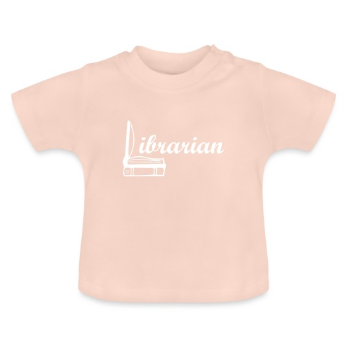 0325 Librarian Librarian Cool design - Baby T-Shirt