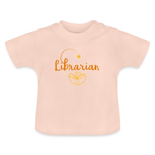 0327 Librarian Librarian Library Book - Baby T-Shirt