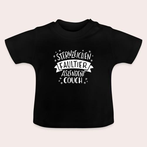 Sternzeichen Faultier - Baby T-Shirt