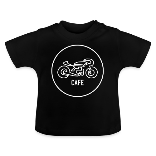 »One Line« Motorcycle - »CAFE« - Baby T-Shirt
