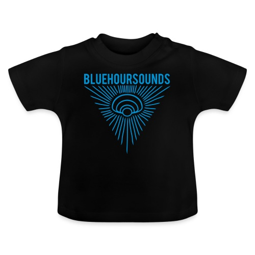 New Blue Hour Sounds logo triangle - Baby T-Shirt