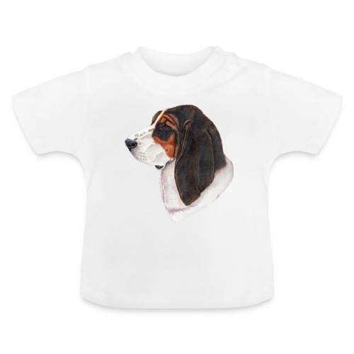 bassethound color - Baby T-shirt