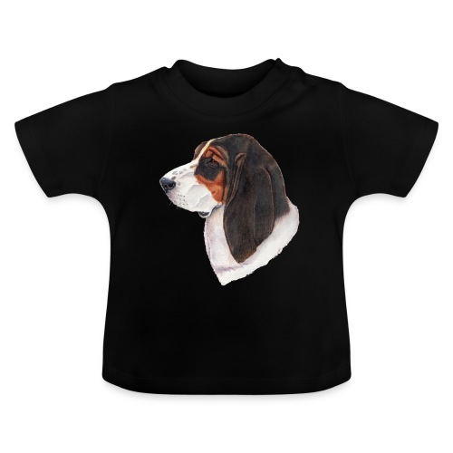 bassethound color - Baby T-shirt