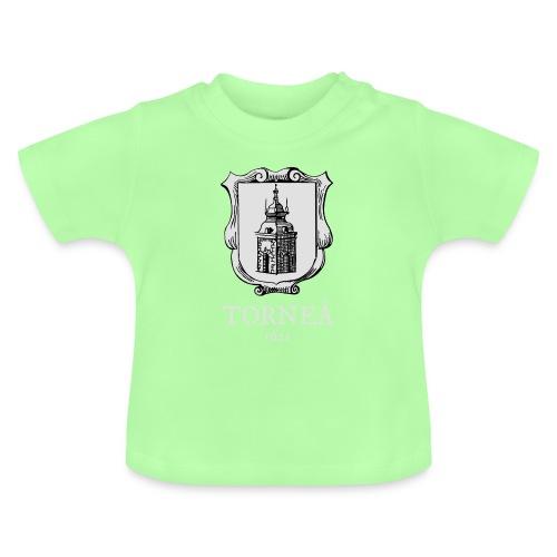 Torneå 1621 vaalea - Vauvan t-paita