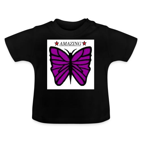Motiv fjäril, Butterfly amazing - Baby-T-shirt