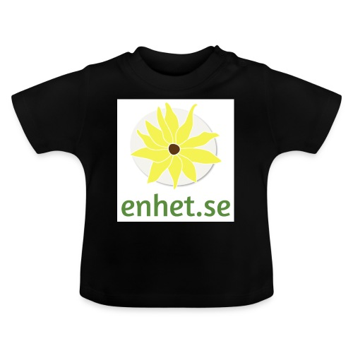 Enhet_logotyp_hq_text_und - Baby-T-shirt