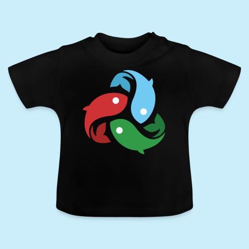 De fiskede fisk - Baby T-shirt