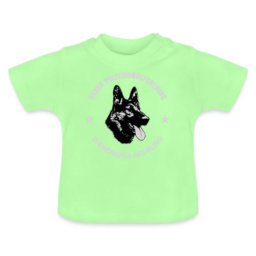 Svendborg PH hvid skrift - Baby T-shirt