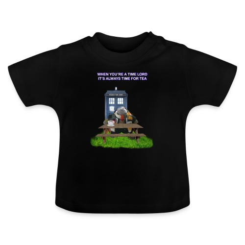 TIME AND SPACE AND TEA - Baby T-Shirt