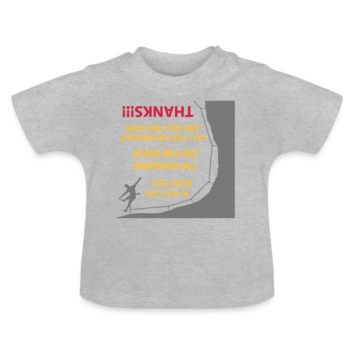 Rock Climbing - Vauvan t-paita