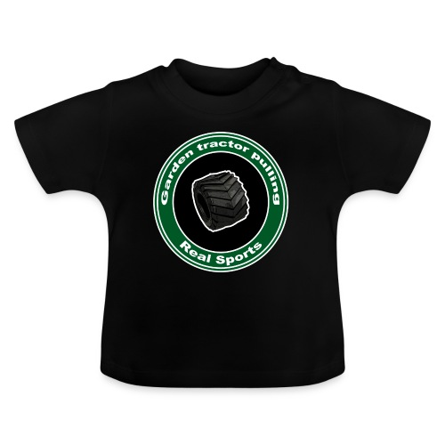 børne Real Tractor Pulling - Baby T-shirt