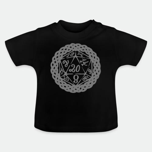 D20 Geschenk Glücksbringer Rollenspiel Würfel - Baby T-Shirt