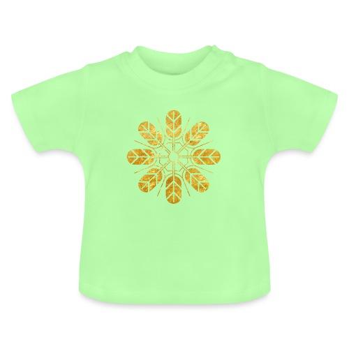 Inoue clan kamon in gold - Baby T-Shirt