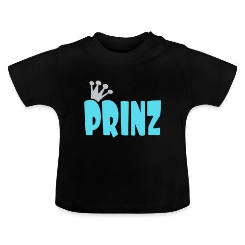 PRINZ-hellblau-2 - Baby T-Shirt