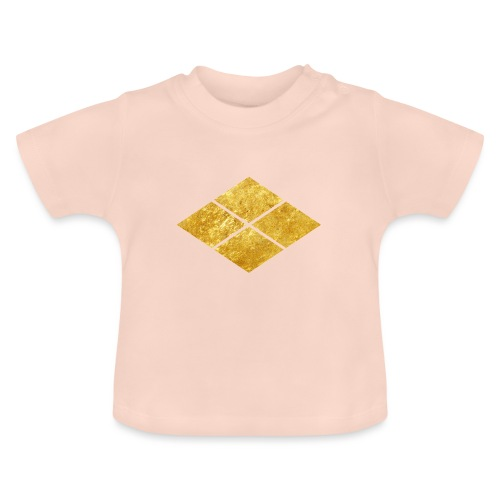 Takeda kamon Japanese samurai clan faux gold - Baby T-Shirt