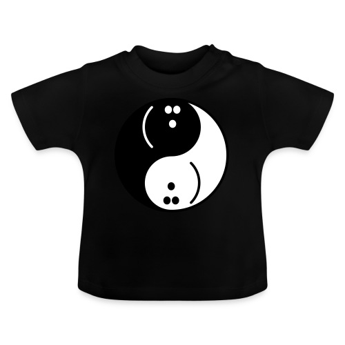 Bowling Yin-Yang - Baby T-Shirt