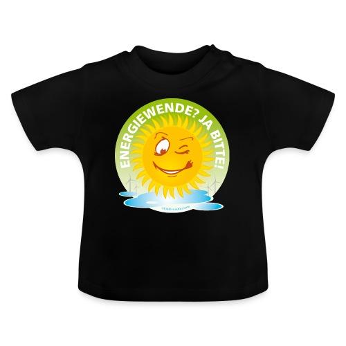 Energiewende Ja bitte - Baby T-Shirt