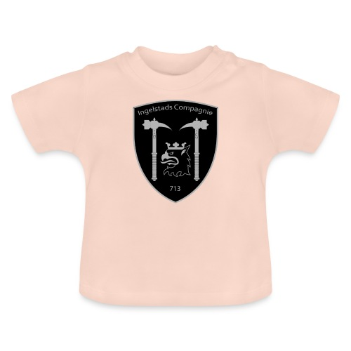Kompanim rke 713 m nummer gray ai - Baby-T-shirt