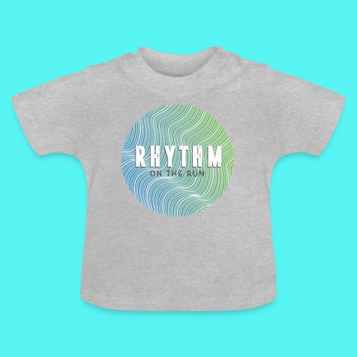 Rhythm On The Run Logo - Baby T-Shirt