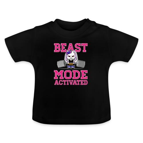 Bunny Power Lifting - T-shirt Bébé