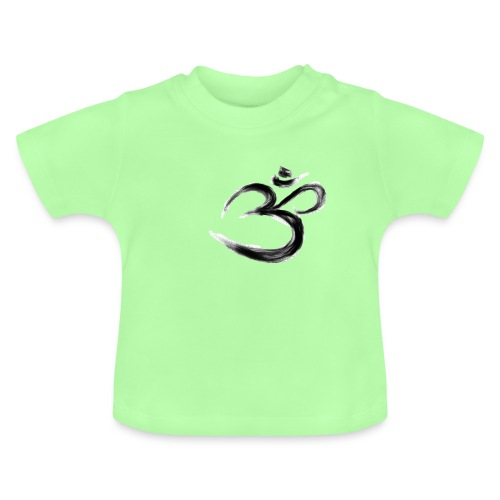Black OM - Baby-T-shirt