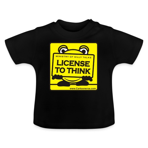 Licence to Think - Baby T-Shirt