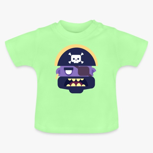 Mini Monsters - Captain Zed - Baby T-shirt