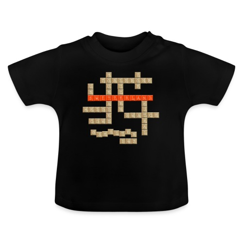 Scrabble - Switzerland - Baby T-Shirt